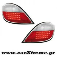 Φανάρι Πίσω Red Crystal Led Opel Astra H 5D 04+