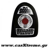 Φανάρι Πίσω Μαύρο Led Opel Corsa B 03 93 03 01