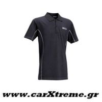 Μπλούζα Polo Μαύρη Sparco