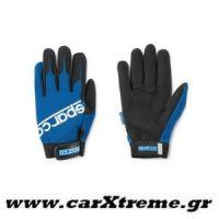 Γάντια Συνεργείου Work Gloves Μπλε Sparco