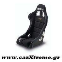 Εσωτερικό Κάθισμα Racing Rev Μαύρο Sparco