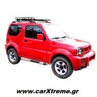 Πλαϊνά Σκαλοπάτια για Suzuki Jimny με Μονό Πάτημα
