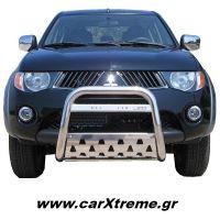 Eμπρόσθιος Προφυλακτήρας Mitsubishi L200 2006+ με Ποδιά