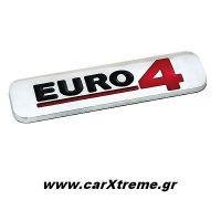 Τρισδιάστατο Αυτοκόλλητο Euro 4