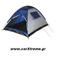 Σκηνή camping 2 ατόμων outdoor