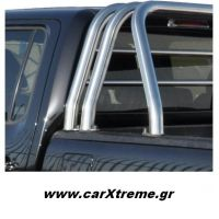 Roll Bar τριών σκελών - σωληνωτή σχάρα Toyota Hilux 2011+