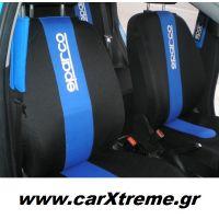 Καλύμματα καθισμάτων Sparco σε Ford Fiesta 2013