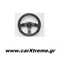 Τιμόνι Αυτοκινήτου Momo μαύρο