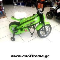 Παιδικό Mini Moto με Βοηθητικές Ρόδες