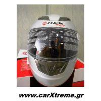 Κράνος Μηχανής Full Face Rex Moto