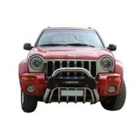 Jeep Cherokee '02>'07 - Εμπρόσθιος προφυλακτήρας 106 Inox