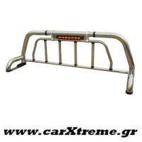 Roll bar 406 Inox Mazda B2500-2600 '98>'06