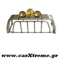 Roll bar 408 Inox Mazda B2500-2600 '98>'06