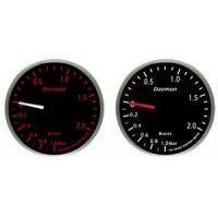 Μπαρόμετρο αυτοκινήτου Deamon Red - White Led