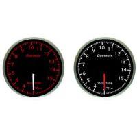 Όργανο Μέτρησης Θερμοκρασίας Νερού Αυτοκινήτου Daemon 60mm Red-White Led