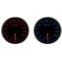 Όργανο Μέτρησης Θερμοκρασίας Νερού Αυτοκινήτου Daemon 60mm Red-Blue Led
