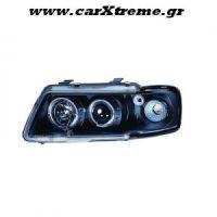 Φανάρια Εμπρός Μαύρα Audi A3 96-00