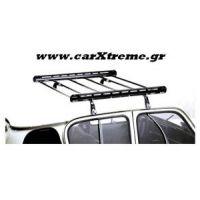 Σχάρα οροφής αυτοκινήτου ατσάλι σε μαύρο χρώμα