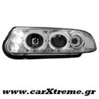 Φανάρι Εμπρός Chrome Rover 200 95-00