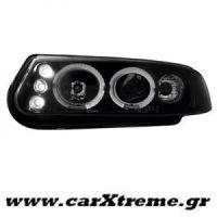 Φανάρι Εμπρός Μαύρο Rover 200 95-00