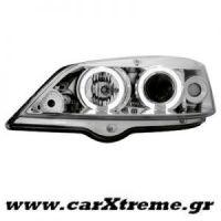 Φανάρι Εμπρός Chrome RHD Opel Astra G 98-04
