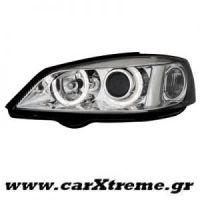 Φανάρι Εμπρός Chrome Opel Astra G 98-04