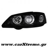 Φανάρι Εμπρός Μαύρο Opel Astra G 98-04