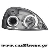 Φανάρι Εμπρός Chrome Για Αυτοκίνητο Renault Clio MK3 01-05