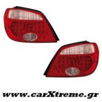 Φανάρι Πίσω Led Red Crystal Mitsubishi Outlander 05-06