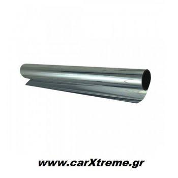 Φιλμ Παραθύρων / Αντιηλιακή Μεμβράνη / Φιμέ Derk Silver 15% (50 x 300 cm)